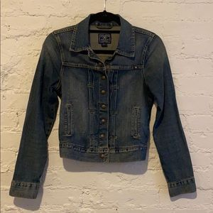 Cropped Lucky Brand Denim Jacket